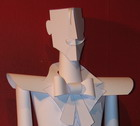 Margaret paper sculpture